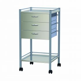 Instrument Trolley - 3 Drawer Nova Model AX 349