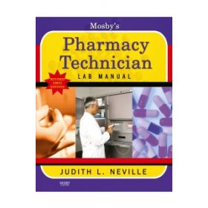 Mosby's Pharmacy Tech Lab Man Reprint 1e