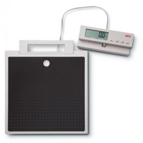 Seca 869 Flat Scale, Electronic, 250 kg/550 lbs with Cable Remote Control