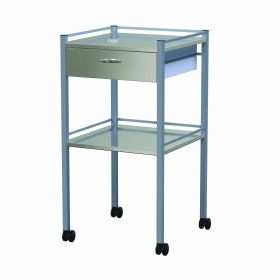 Instrument Trolley - 1 Drawer Nova Model AX 345