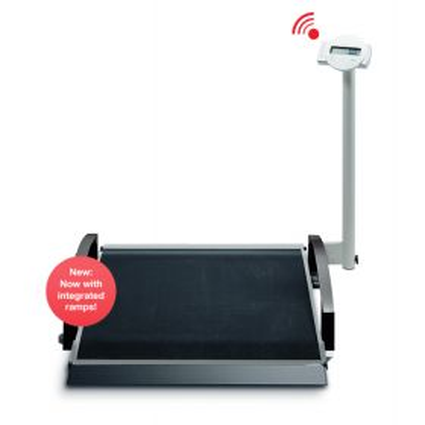 Seca 664 Wheel Chair Scale, Electronic 360 kg/800 lbs, Wireless.
