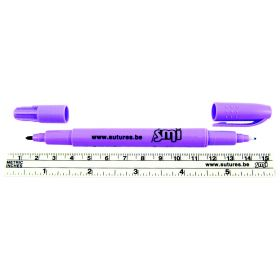 Dual Tip Skin Marker with Ruler